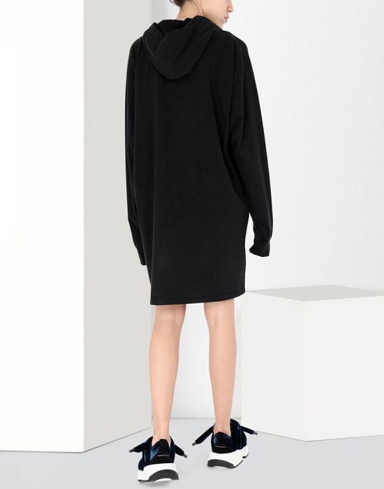MM6 MAISON MARGIELA Print hoodie jersey dress Short dress [*** pickupInStoreShipping_info ***] d