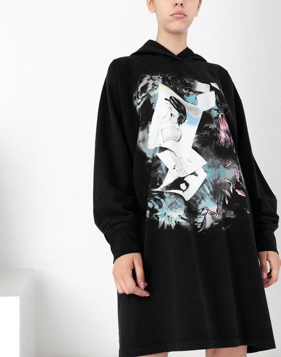 MM6 MAISON MARGIELA Print hoodie jersey dress Short dress [*** pickupInStoreShipping_info ***] e