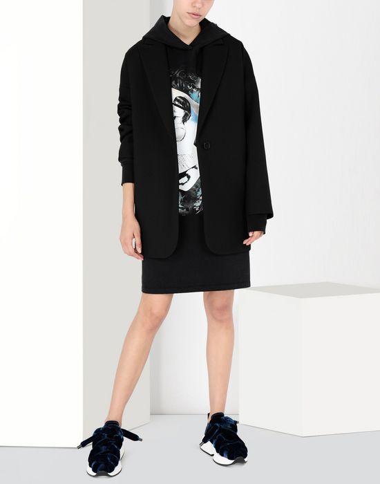 MM6 MAISON MARGIELA Print hoodie jersey dress Short dress [*** pickupInStoreShipping_info ***] r