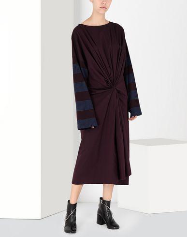 MM6 MAISON MARGIELA 3/4 length dress [*** pickupInStoreShipping_info ***] Two-tone tie knot midi dress f