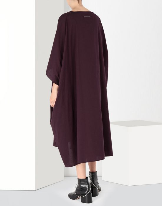 MM6 MAISON MARGIELA Flat cotton dress 3/4 length dress [*** pickupInStoreShipping_info ***] d
