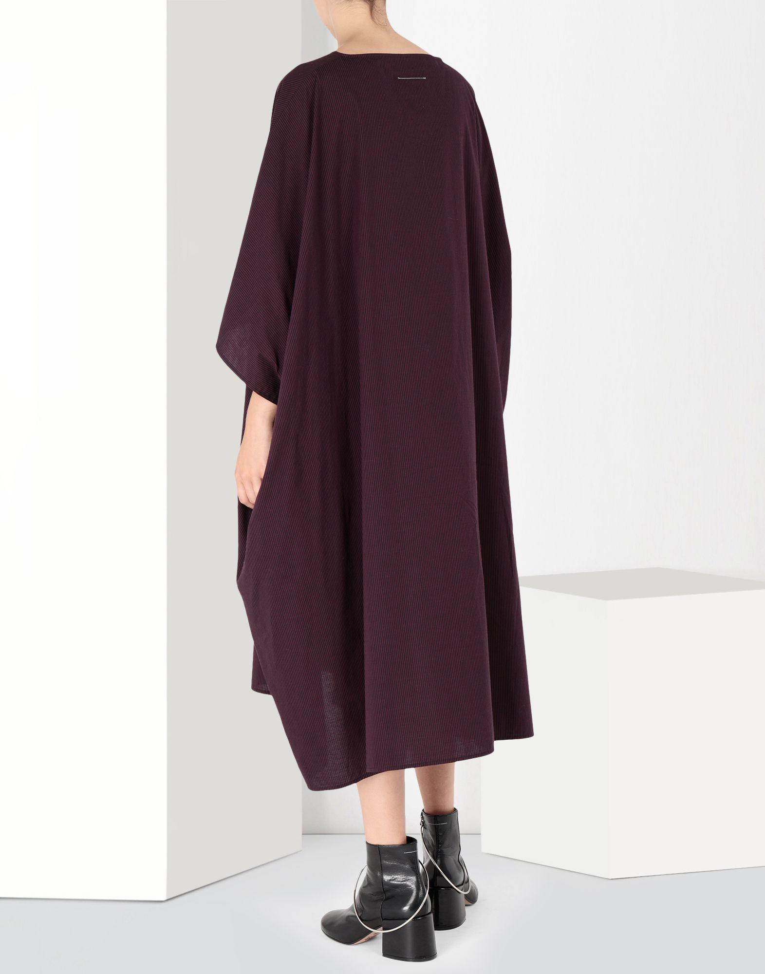MM6 MAISON MARGIELA Flat cotton dress 3/4 length dress Woman d