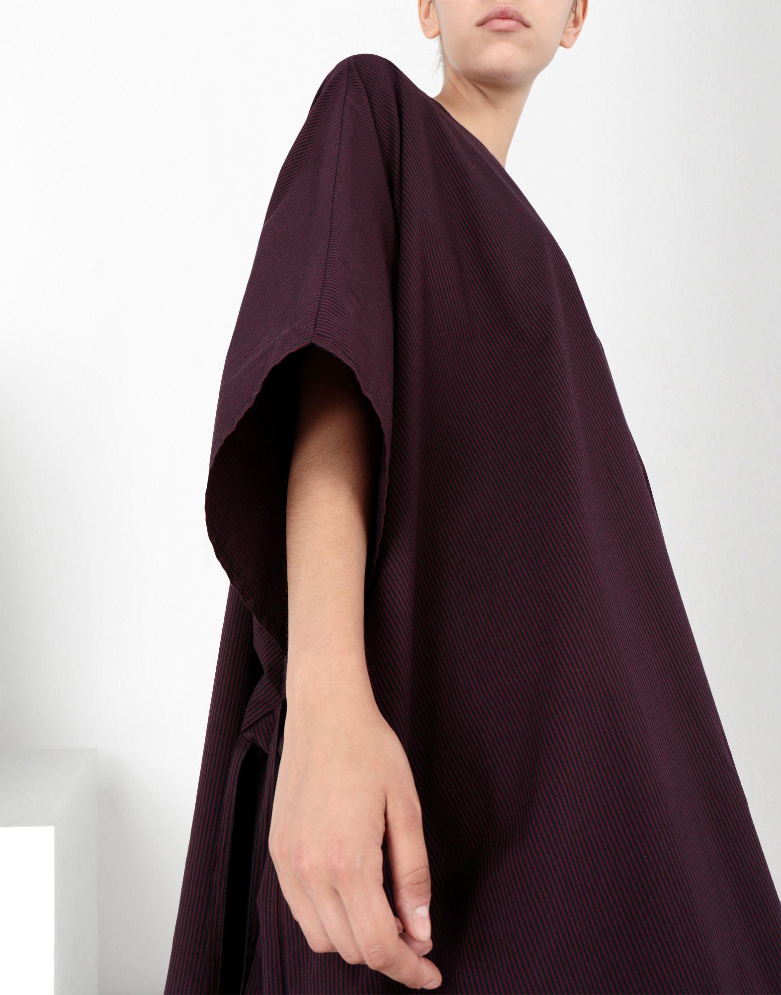 MM6 MAISON MARGIELA Flat cotton dress 3/4 length dress Woman e