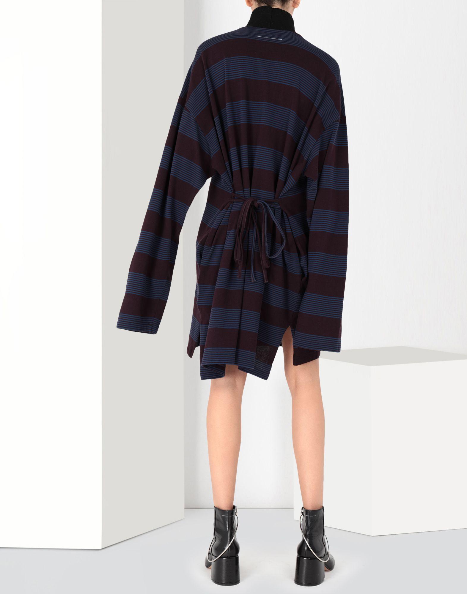 MM6 MAISON MARGIELA Striped jersey dress Short dress Woman d