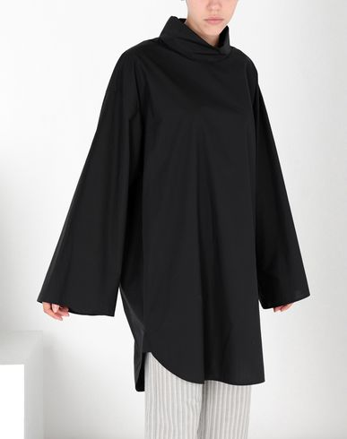 MM6 MAISON MARGIELA Robe courte [*** pickupInStoreShipping_info ***] Robe-chemisier parachute en popeline f