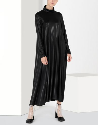 MM6 MAISON MARGIELA Long dress Woman High-shine jersey dress f