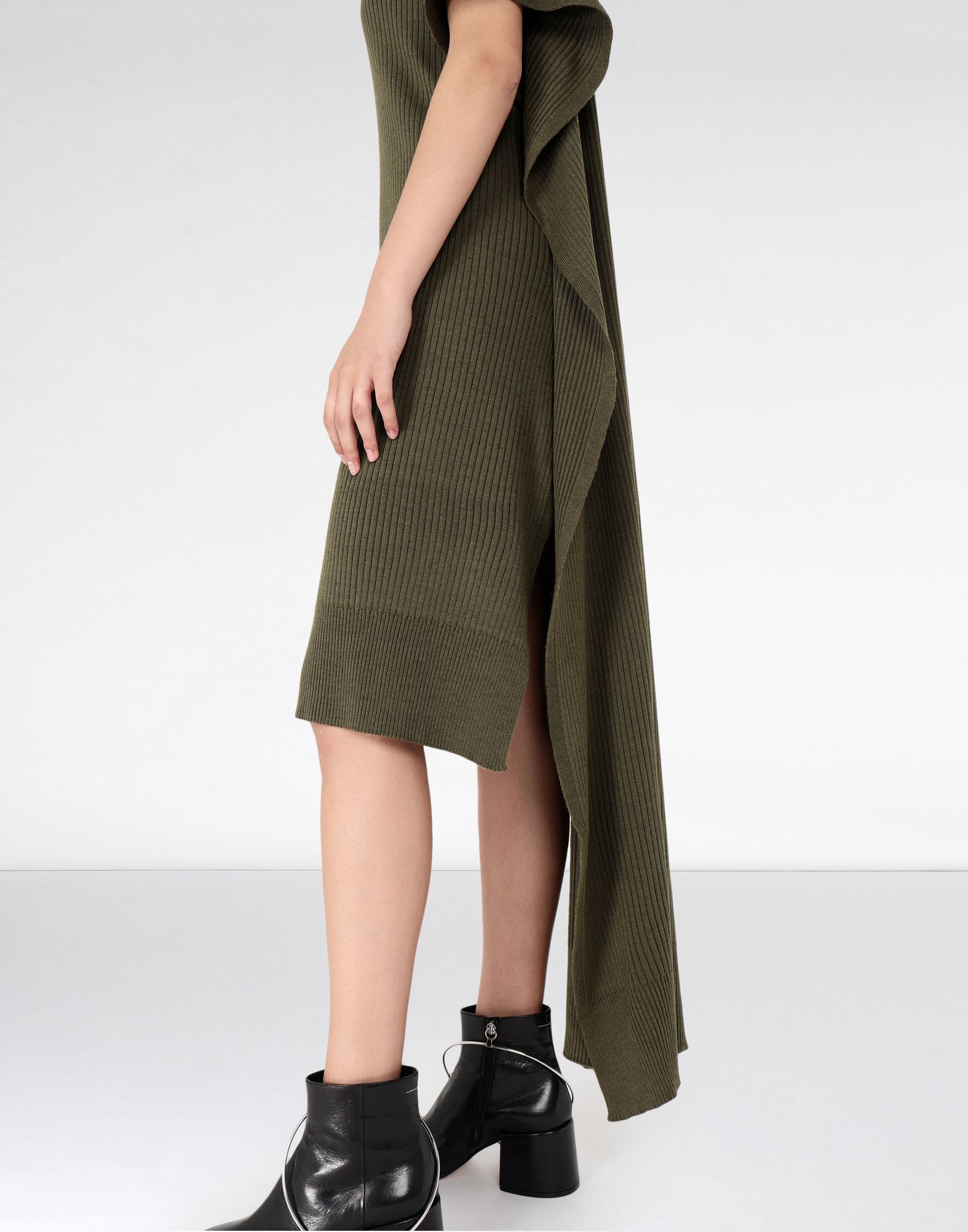 MM6 MAISON MARGIELA Knitwear polo neck dress Long dress Woman a