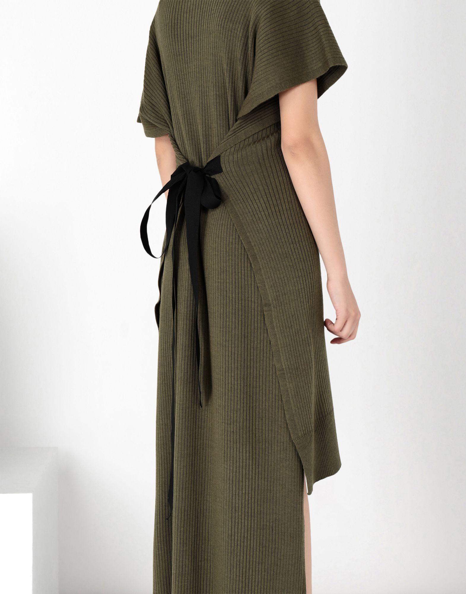 MM6 MAISON MARGIELA Knitwear polo neck dress Long dress Woman e