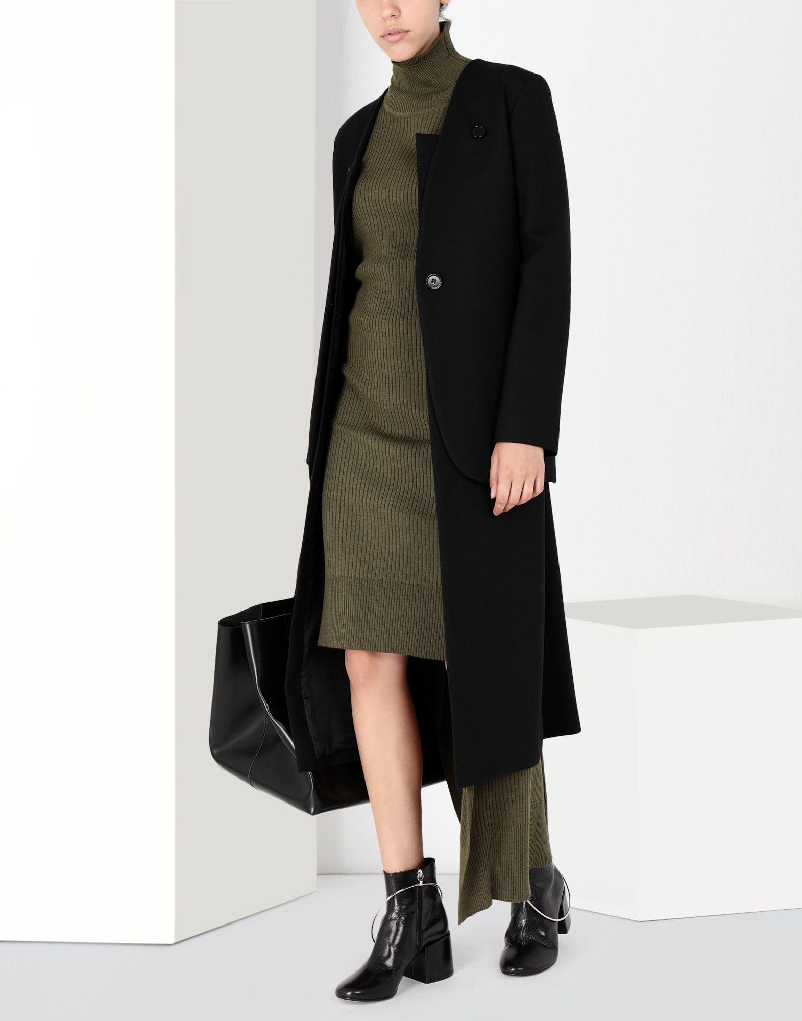 MM6 MAISON MARGIELA Knitwear polo neck dress Long dress Woman r