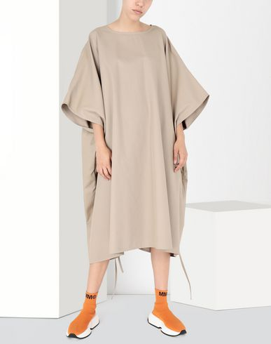 MM6 MAISON MARGIELA 3/4 length dress Woman Two-way oversized dress f