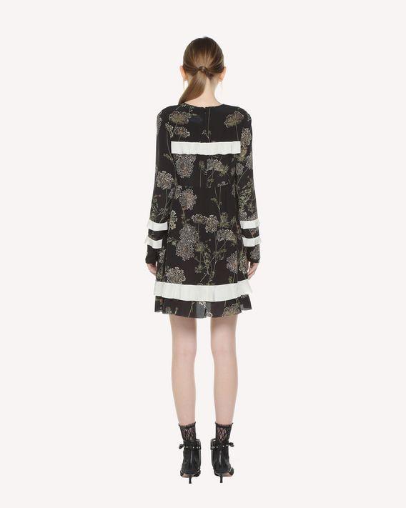 REDValentino Spontaneous Flowers printed Silk dress