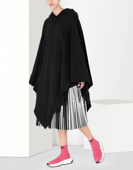 MM6 MAISON MARGIELA Drop waist pleated dress 3/4 length dress [*** pickupInStoreShipping_info ***] r