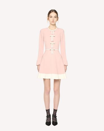 REDValentino Stretch Frisottine dress with bow detail
