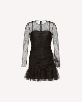 REDValentino Knit Dress Woman QR0KD06H468 0NO a