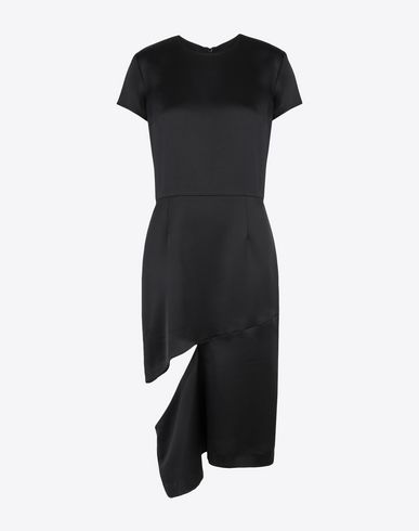 MAISON MARGIELA 3/4 length dress Woman Crew-neck dress f