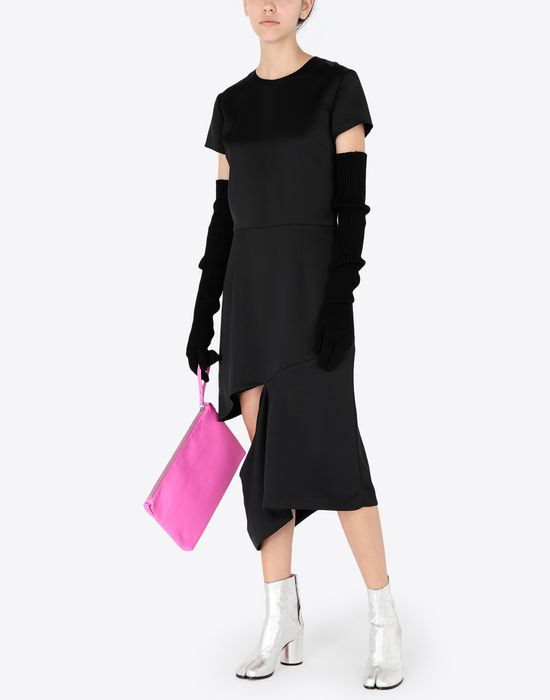 MAISON MARGIELA Crew-neck dress 3/4 length dress [*** pickupInStoreShipping_info ***] d