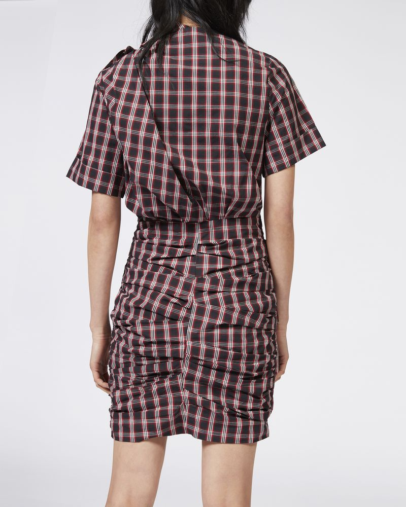 ORIA plaid dress ISABEL MARANT ÉTOILE