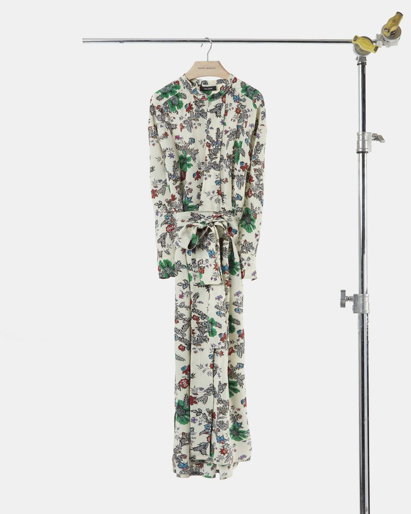 CALYPSO wraparound dress ISABEL MARANT