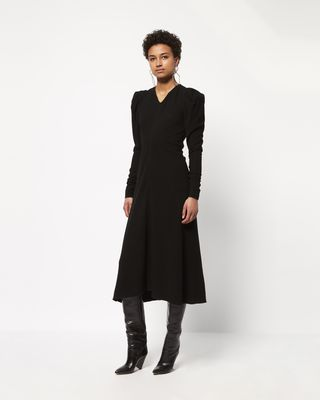 ABI mid-length dress
