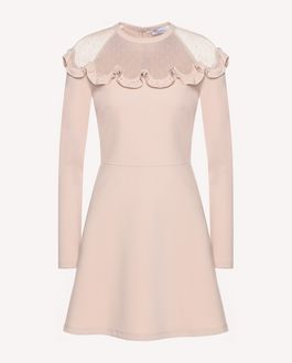 REDValentino Dress Woman QR3VA7F83TG CHA a