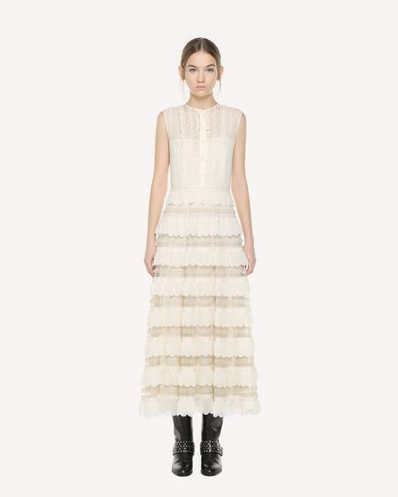 REDValentino Long dress Woman QR3VA09M3UE A03 f