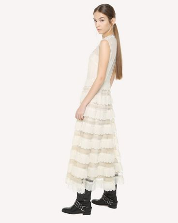 REDValentino QR3VA09M3UE A03 Long dress Woman d