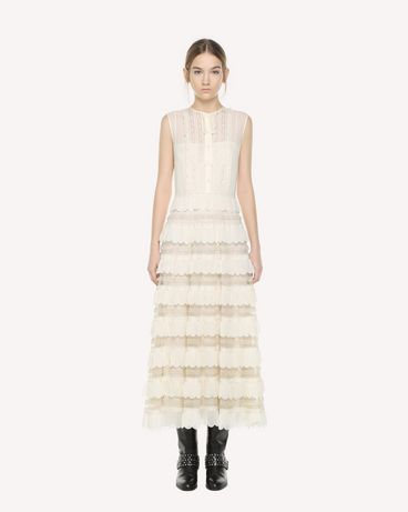 REDValentino QR3VA09M3UE A03 Long dress Woman f