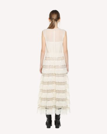 REDValentino QR3VA09M3UE A03 Long dress Woman r