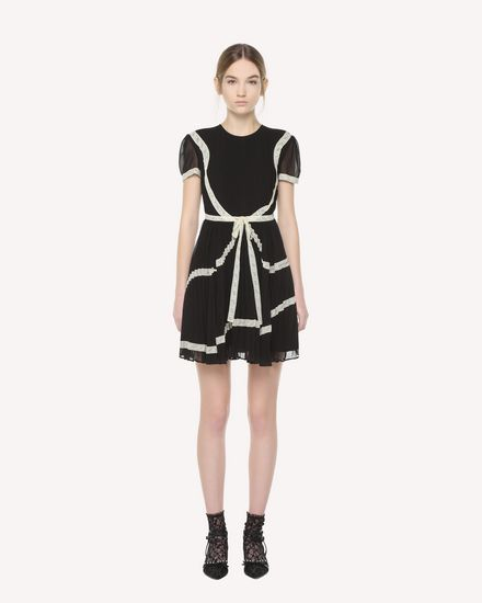 REDValentino Dress Woman QR3VA09T3U7 0NO f