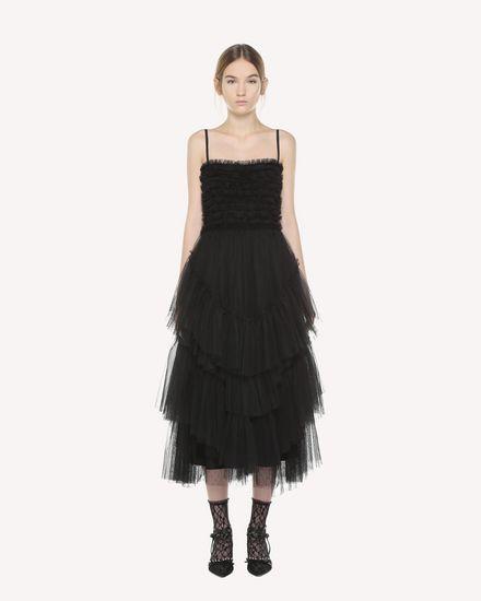 REDValentino Dress Woman QR3VA09X3UF 0NO f