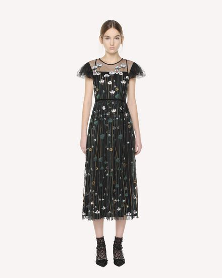 REDValentino Dress Woman QR3VA09Z3UG 0NO f