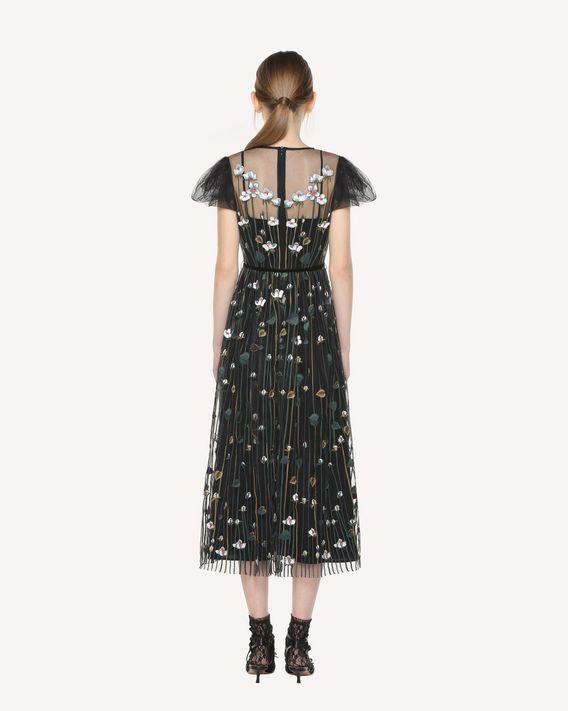 Metamorphosis Of Garden Robe En Avec Tulle Femme Broderie l1TcFKJ