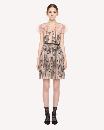 REDValentino Dress Woman QR3VA10A3UG 377 f