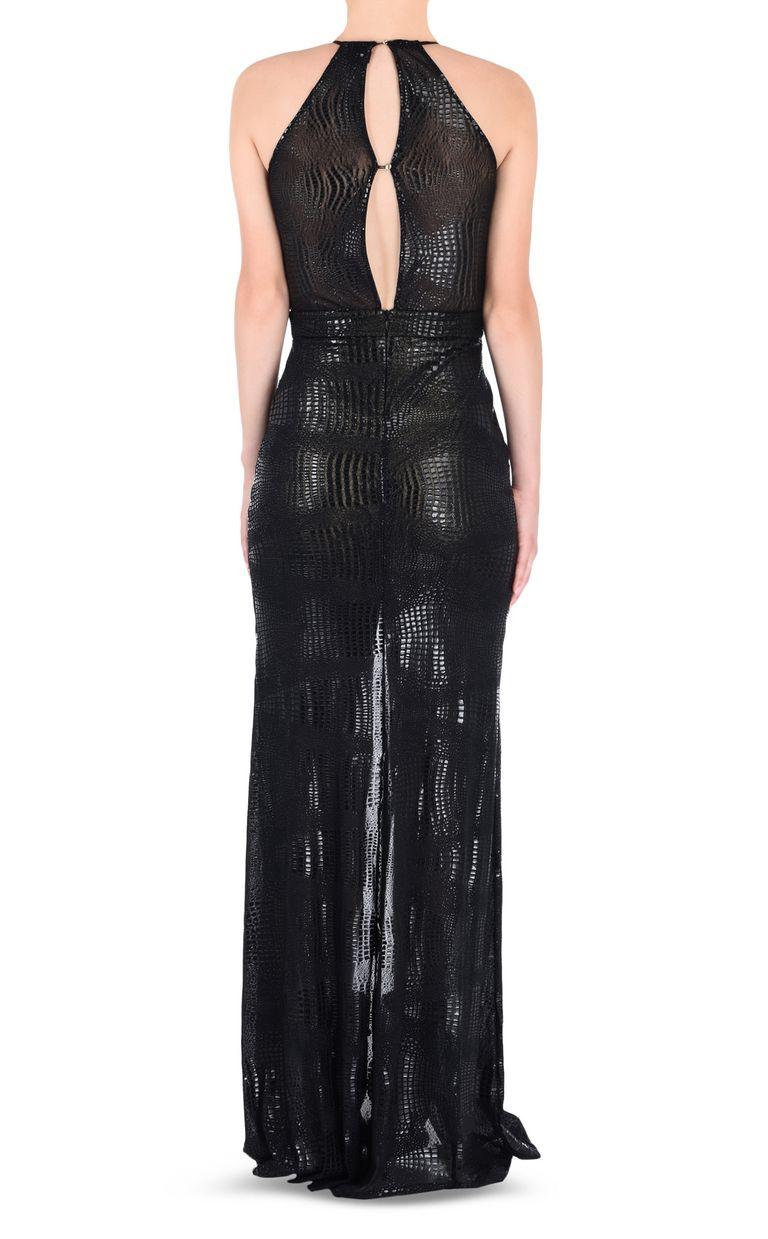 JUST CAVALLI Maxi dress with crocodile details Dress [*** pickupInStoreShipping_info ***] d