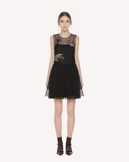 REDValentino Dress Woman QR3VA7C71NC 0NO f