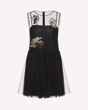 REDValentino QR3VA7C71NC 0NO Dress Woman a