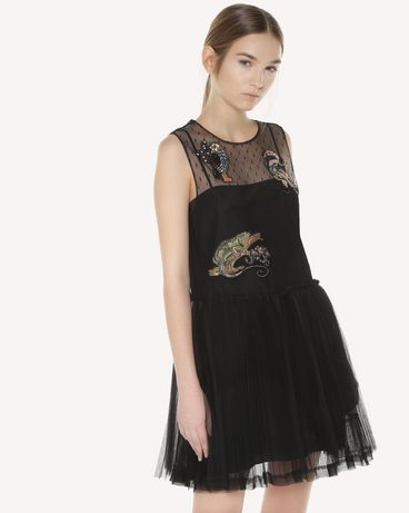 REDValentino QR3VA7C71NC 0NO Dress Woman d