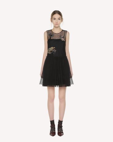 REDValentino QR3VA7C71NC 0NO Dress Woman f