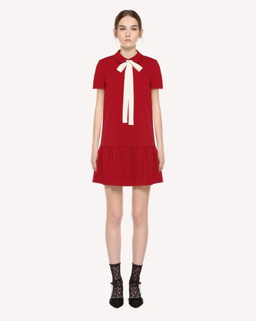 REDValentino QR3VA7F83TG CHA Short dress Woman f