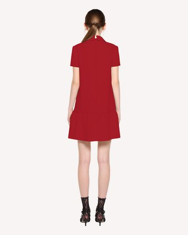 REDValentino QR3VA7F83TG CHA Short dress Woman r
