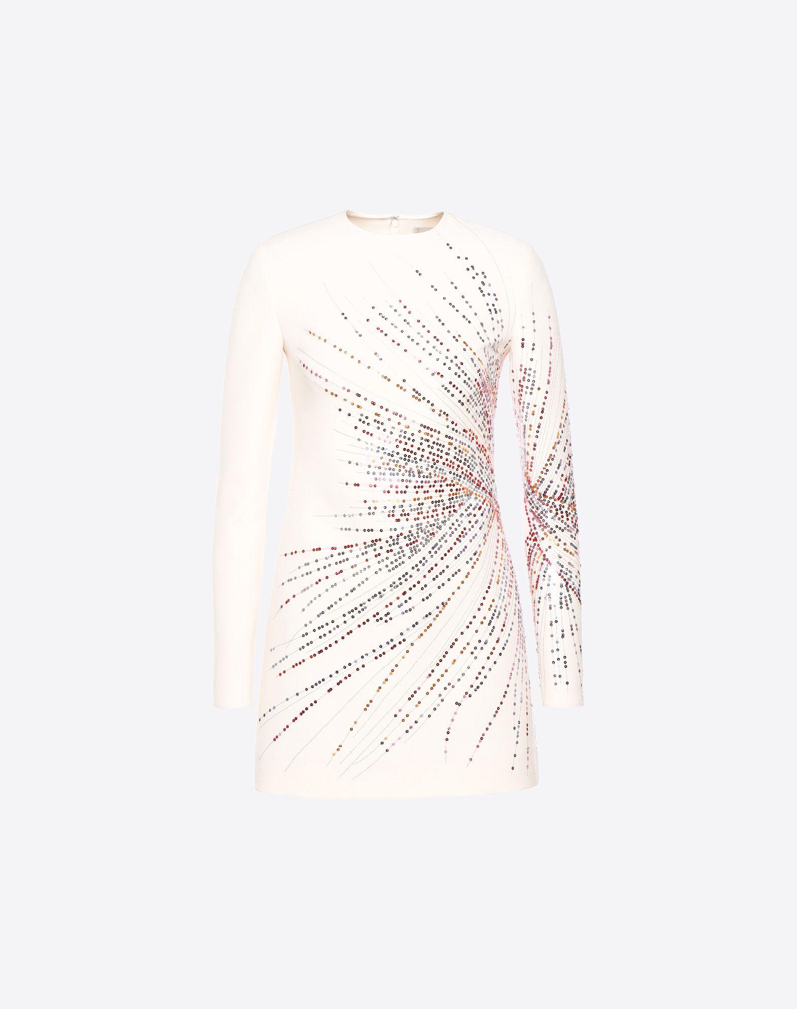 VALENTINO Fireworks Embroidered Dress Dress D f