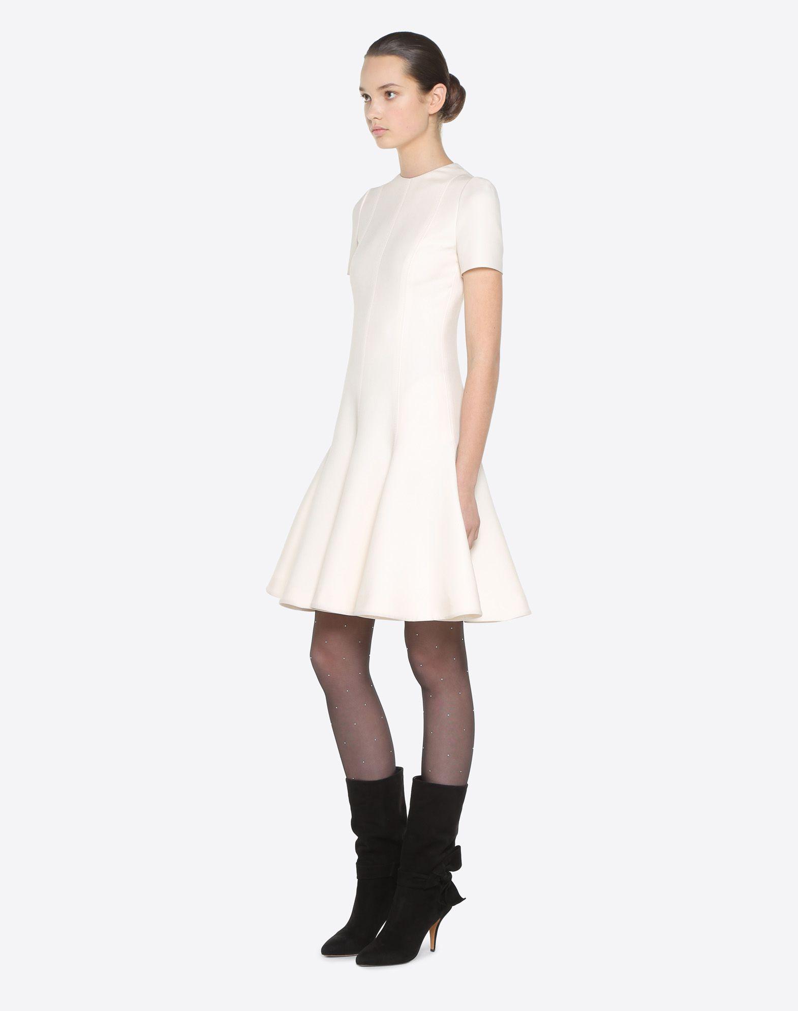 VALENTINO Couture 绉绸连衣裙 连衣裙 D d