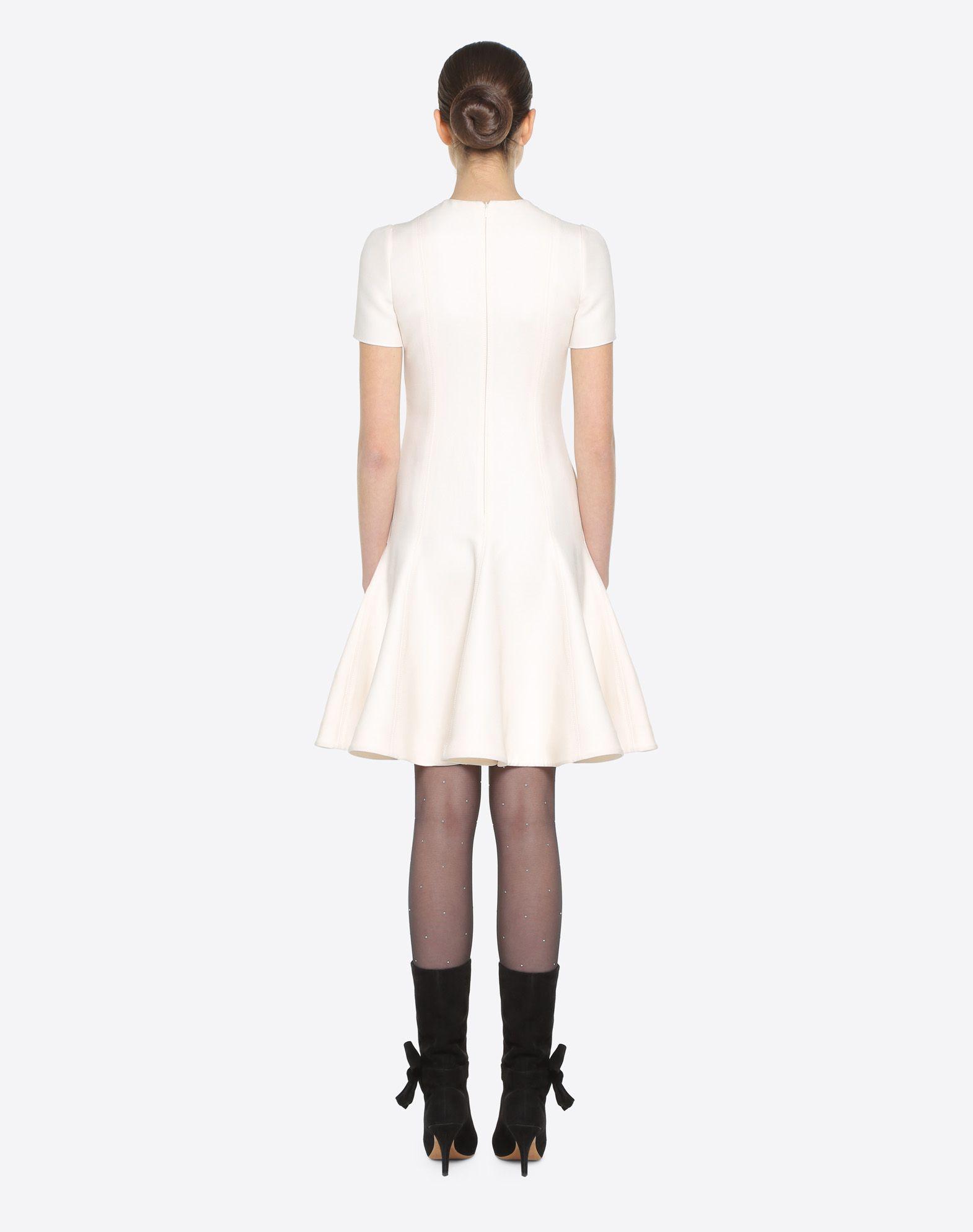 VALENTINO Couture 绉绸连衣裙 连衣裙 D e