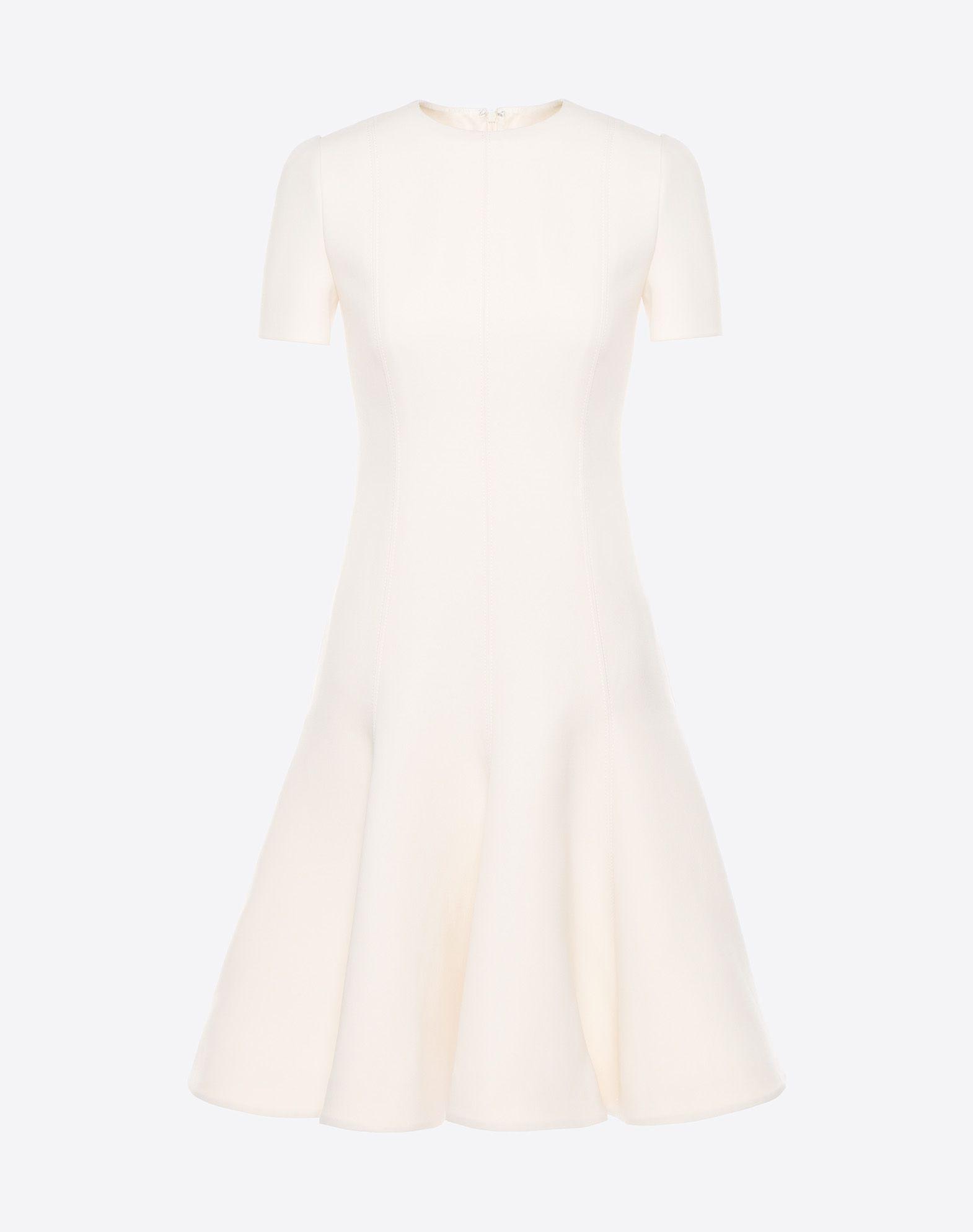 VALENTINO Couture 绉绸连衣裙 连衣裙 D f