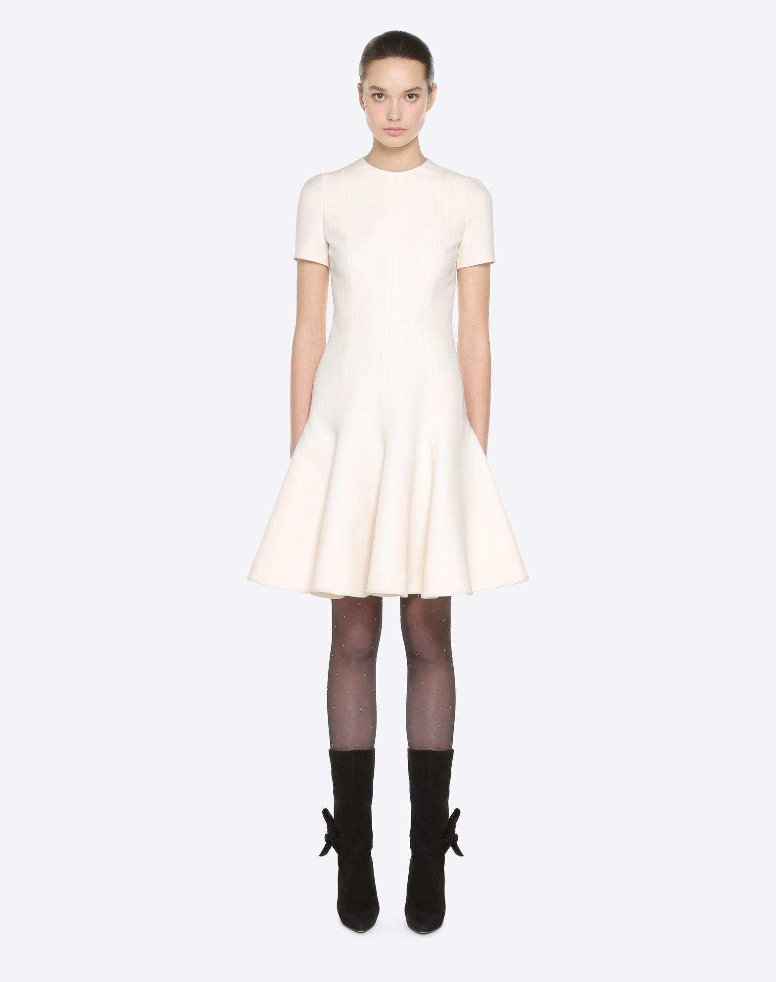 VALENTINO Couture 绉绸连衣裙 连衣裙 D r
