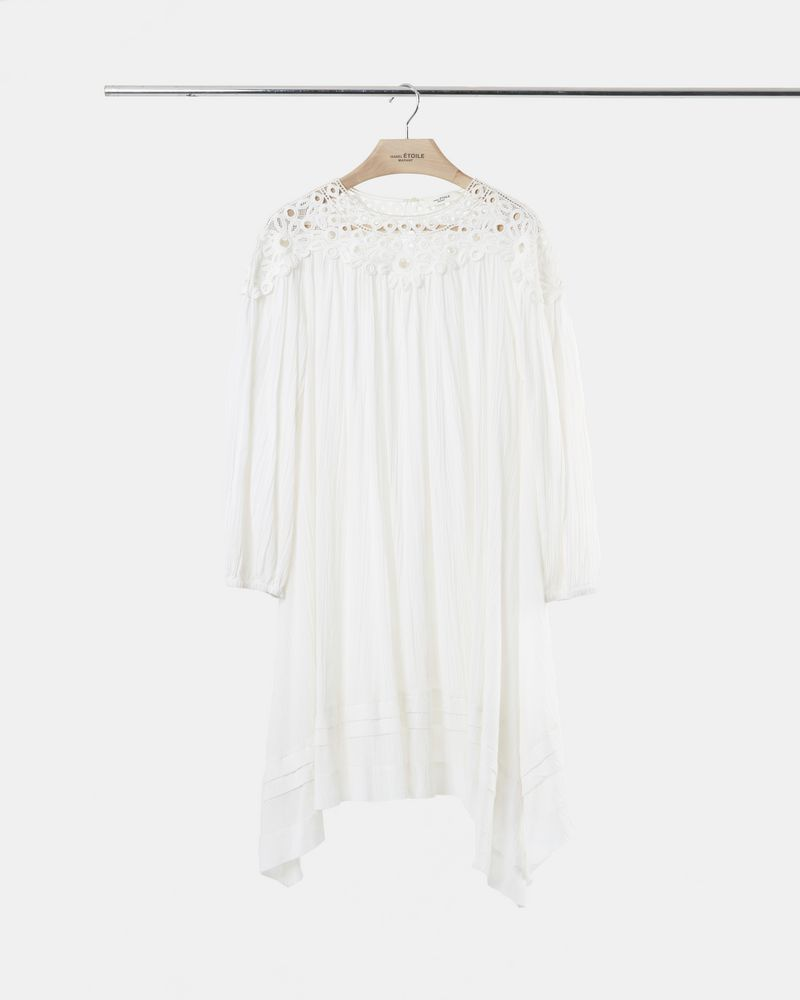 RITA embroidered cotton dress ISABEL MARANT ÉTOILE