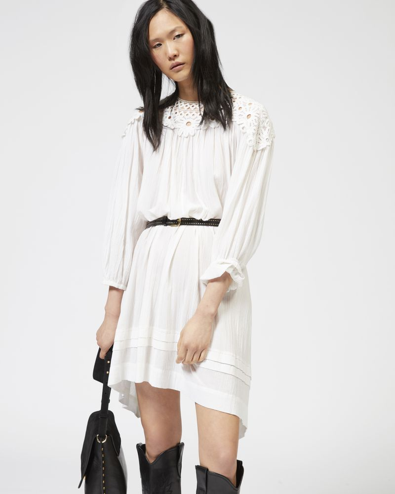Rita embroidered cotton dress Isabel Marant rhr4q