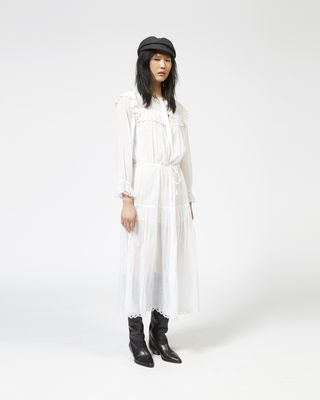EINA cotton voile dress