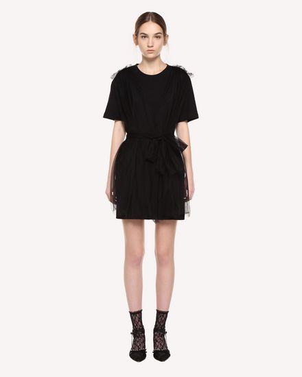 REDValentino Dress Woman QR3MJ08I3YS 0NO f