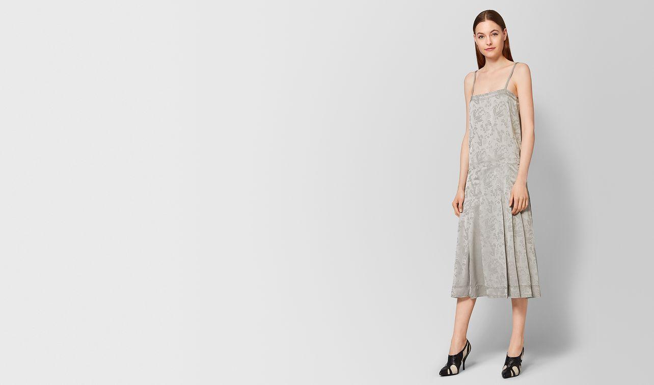 cement silk jacquard dress landing
